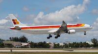 EC-LUB @ MIA - Iberia A330-300