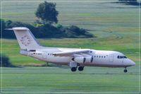 D-AWUE @ EDDR - British Aerospace BAe.146-200 - by Jerzy Maciaszek