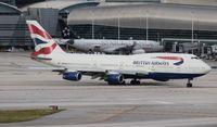 G-BNLV @ MIA - British 747-400