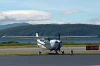 D-EGLF @ EGEO - Parked at Oban Airport (North Connel). - by Jonathan Allen