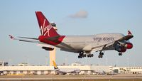 G-VWOW @ MIA - Virgin Atlantic 747-400