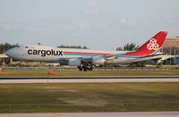 LX-VCB @ MIA - Cargolux 747-800 - by Florida Metal