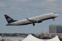 N101HQ @ TPA - US Airways E175