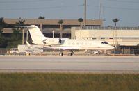 N117MS @ MIA - Gulfstream IV