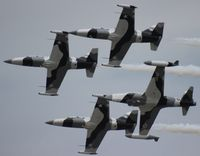 N134EM @ LAL - Black Diamond Jet Team