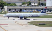 N151UW @ FLL - US Airways A321