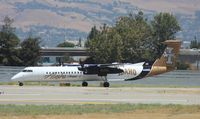 N400QX @ KSJC - DHC-8-402 - by Mark Pasqualino