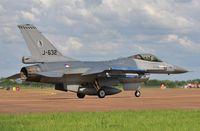 J-632 @ EGVA - Arriving for RIAT - by John Coates