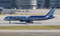 N176CA @ MIA - National 757-200