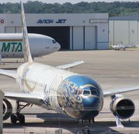 N182AQ @ SFB - Gulf Air 767-300 - by Florida Metal