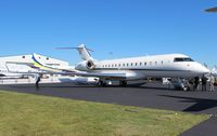 N185GX @ ORL - Global Express at NBAA