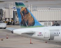 N211FR @ FLL - Frontier A320 Bear tail