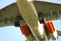 UNKNOWN @ VIE - Spanair MD-87 (full SAS c/s main gear shot)