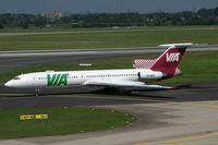 LZ-MIG @ EDDL - Tupolev 154 VIA - by Triple777