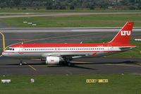 D-ALTK @ EDDL - Airbus 320 LTU - by Triple777