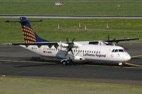 D-ANFK @ EDDL - ATR72 Lufthansa Regional - by Triple777