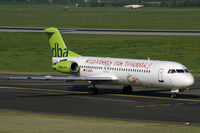 D-AGPG @ EDDL - Fokker 100 DBA - by Triple777