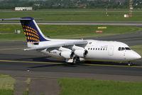 D-AEWD @ EDDL - BAe146 Eurowings - by Triple777