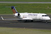 D-ACRQ @ EDDL - Canadair RJ-200ER Lufthansa Regional - by Triple777