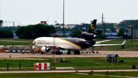 UNKNOWN @ KDFW - UPS MD-11 air freighter - by Ronald Barker