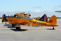C-FPOW @ CYHN - Part of the Sky-Fest activities, taking members up for flight around the Hamilton area. - by Dirk Fierens