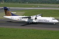 D-ANFL @ EDDL - ATR72 Lufthansa Regional - by Triple777