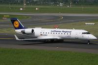 D-ACLY @ EDDL - Canadair CL-600 Lufthansa Regional - by Triple777