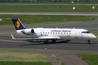 D-ACJD @ EDDL - Canadair CL-600 Lufthansa Regional - by Triple777