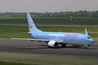D-AHFN @ EDDL - Boeing 737-800 Hapag Lloyd - by Triple777