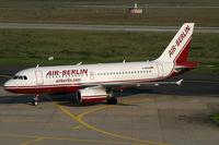 D-ABGB @ EDDL - Airbus 319 Air Berlin - by Triple777