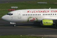 D-ADIA @ EDDL - Boeing 737-300 DBA - by Triple777