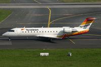 OE-LCI @ EDDL - Canadair RJ-200LR Tyrolean Airways - by Triple777