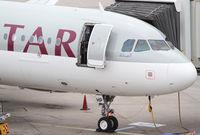 A7-AHP - A320 - Qatar Airways