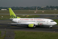 D-ADIA @ EDDL - Boeing 737-300 DBA - by Triple777