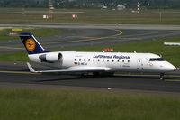 D-ACJJ @ EDDL - Canadair CL-600 Lufthansa Regional - by Triple777