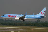 D-AHFM @ EDDL - Boeing 737-800 Hapag Lloyd - by Triple777