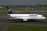 D-ABET @ EDDL - Boeing 737-300 Lufthansa - by Triple777