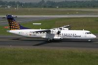 D-ANFJ @ EDDL - ATR72 Lufthansa - by Triple777