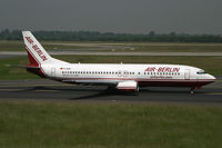 D-ABAI @ EDDL - Boeing 737-400 Air Berlin - by Triple777