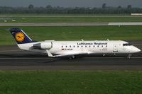 D-ACJA @ EDDL - Canadair CL-600 Lufthansa Regional - by Triple777