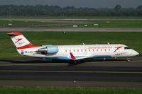 OE-LCH @ EDDL - Canadair CL-600 Austrian Arrows - by Triple777