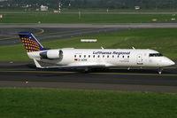 D-ACRK @ EDDL - Canadair RJ-200ER Lufthansa Regional - by Triple777