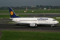 D-ABXL @ EDDL - Boeing 737-300 Lufthansa - by Triple777