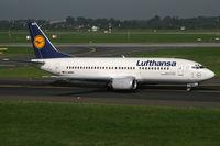 D-ABWH @ EDDL - Boeing 737-300 Lufthansa - by Triple777