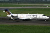 D-ACRI @ EDDL - Canadair RJ-200ER Lufthansa Regional - by Triple777