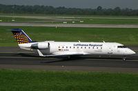 D-ACRA @ EDDL - Canadair RJ-200ER Lufthansa Regional - by Triple777