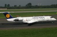 D-ACJJ @ EDDL - Canadir CL-600 Lufthansa Regional - by Triple777