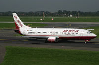 D-ABAM @ EDDL - Boeing 737-400 Air Berlin - by Triple777