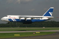 RA-82068 @ EDDL - Antonov 124 Polet Flight - by Triple777