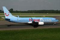 D-AHFF @ EDDL - Boeing 737-800 Hapag Lloyd - by Triple777